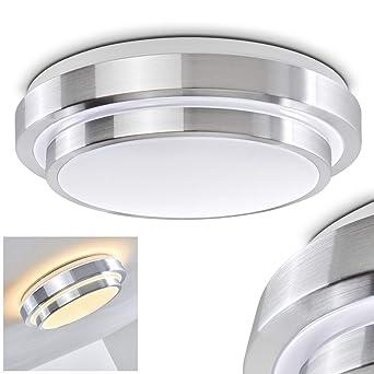 Bad Deckenlampe Sora mit energiesparendem warmweißen LED-Licht ...