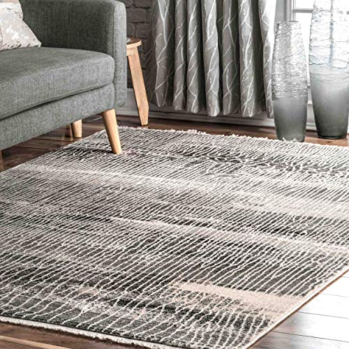 Amazon Com Nuloom Mara Vintage Abstract Area Rug 5 X 7