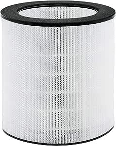 HIMOX Desktop Purificador de Aire para Alergias en el Hogar Filtro: Amazon.es: Hogar