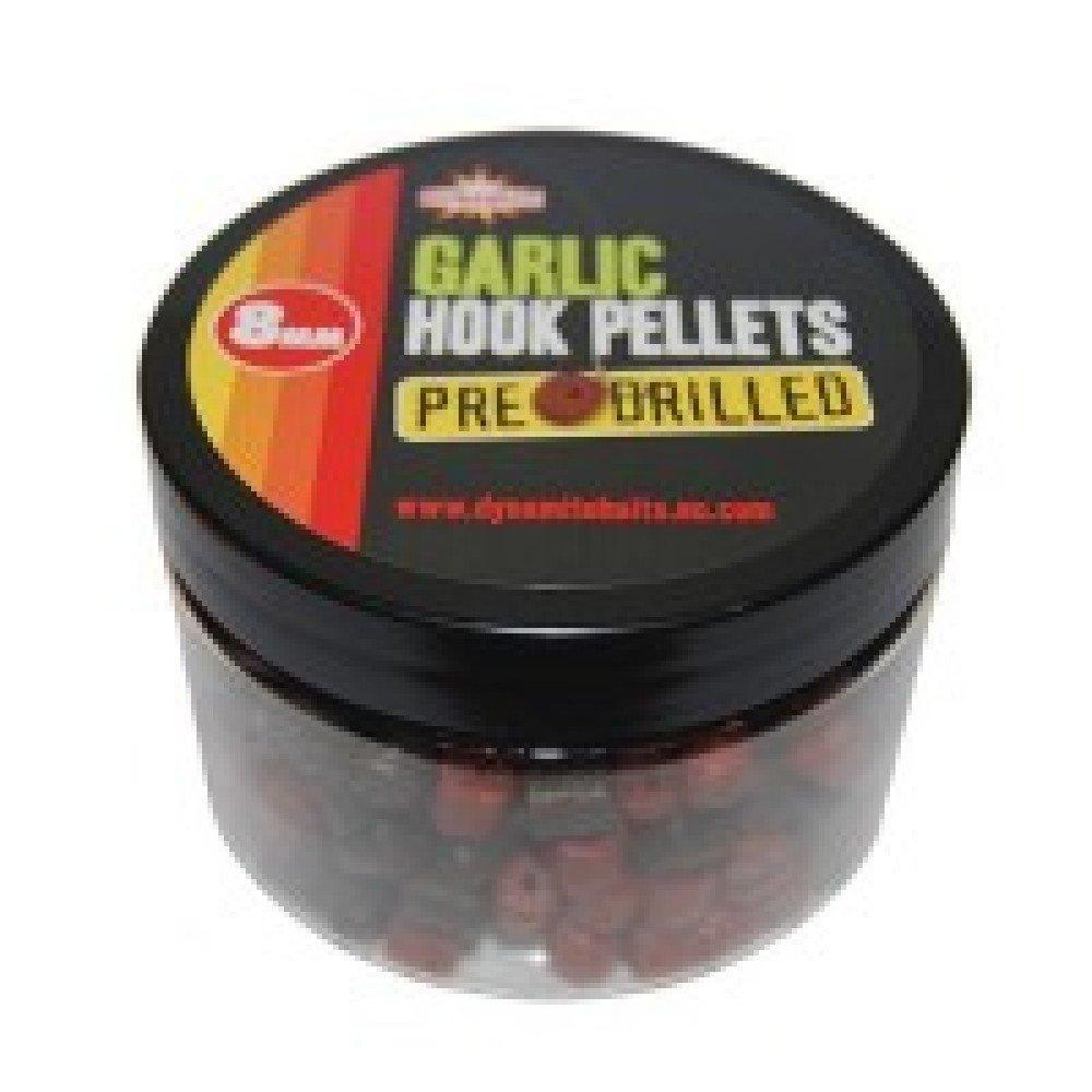 Pre Drilled Pellets Garlic Hook 8mm DYNAMITE BAITS