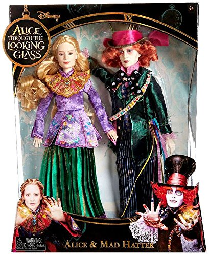 Disney Alice Through the Looking Glass Alice & Mad Hatter Exclusive 11 Doll 2-Pack