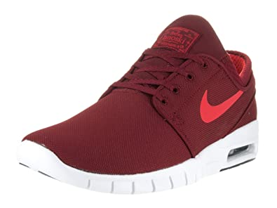 Nike Men's Stefan Janoski Max Team Red/Ember Glow Black White Sneakers -  8.5 D