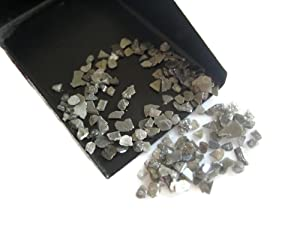 10 Carats Natural Diamond, Grey Diamond Slice, Grey Raw Rough Uncut Diamond Chips, 2mm To 5mm Approx