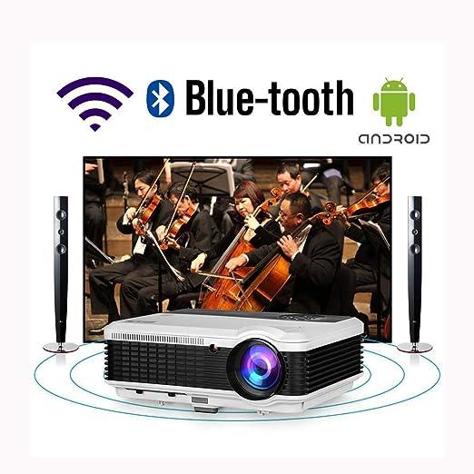 Ai LIFE Proyector de Juegos de películas domésticas Smart HD con ...