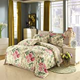 King/Queen 100%Cotton Bed Quilt Cover Single Double Duvet Cover(Only Include Quilt Cover), Single Cotton Quilt Cover,Dance With The Wind,110×150cm