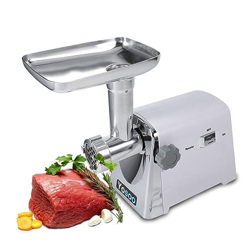 Elektrisch Fleischwolf 1600 Watt Wurstmaschine Wurstfüller Zerkleinerer  Küche