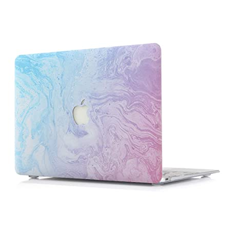 L2W Funda MacBook Air 13 portátiles Accesorios de plástico mármol Patrón Protector Rígida Carcasa para Apple MacBook Air 13 Pulgadas Modelo ...
