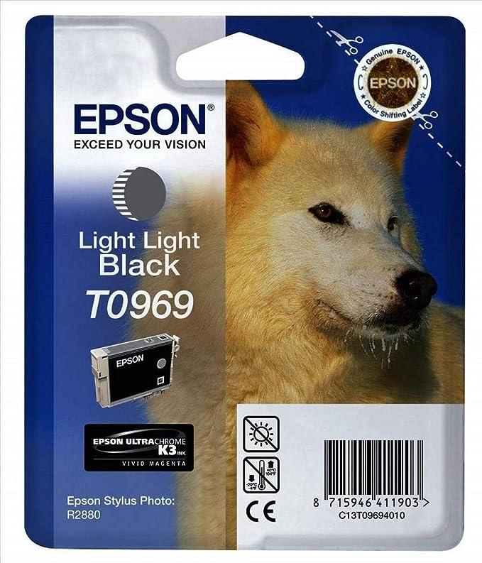 Epson T0969 Tintenpatrone Husky Singlepack Hell Schwarz Bürobedarf Schreibwaren