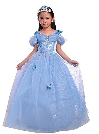 32cb5cf5b95bf JIANGWEI ドレス こども プリンセス ディズニー 雪の女王 ピアノ 発表会 ドレス ワンピース キッズ フォーマル 子供