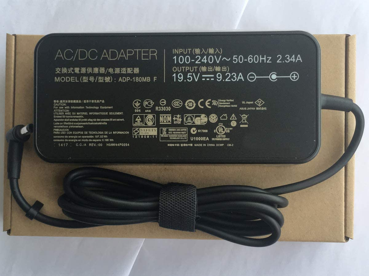 Genuine Power Adapter 19.5v 9.23a 180w Laptop Charger for Asus ROG G750JM G751JM G750JS G-Series Gaming Laptop ADP-180MB F FA180PM111