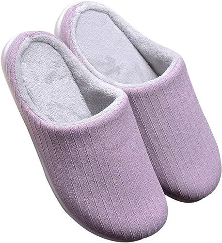 Amazon.com: Zapatillas para mujer, cómodas, de forro polar ...