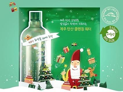 [naturaleza Republic] Jeju Sparkling Cleansing Water 510 ml – agua limpiadora centelleante) 510