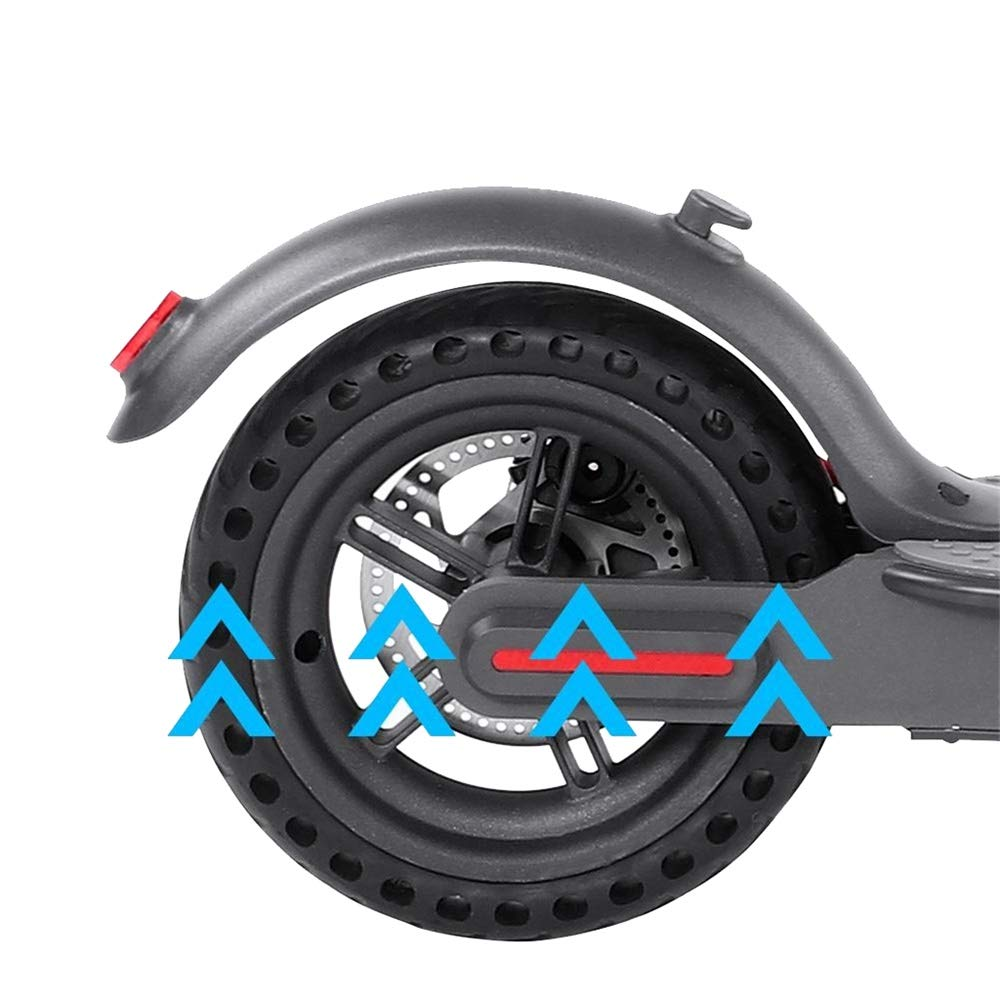 ASTVSHOP Wheel Hub and Explosion-Proof Tire Set Replacement for Electric Scooter Xiaomi Mijia M365 Black 1 Peice by ASTVSHOP
