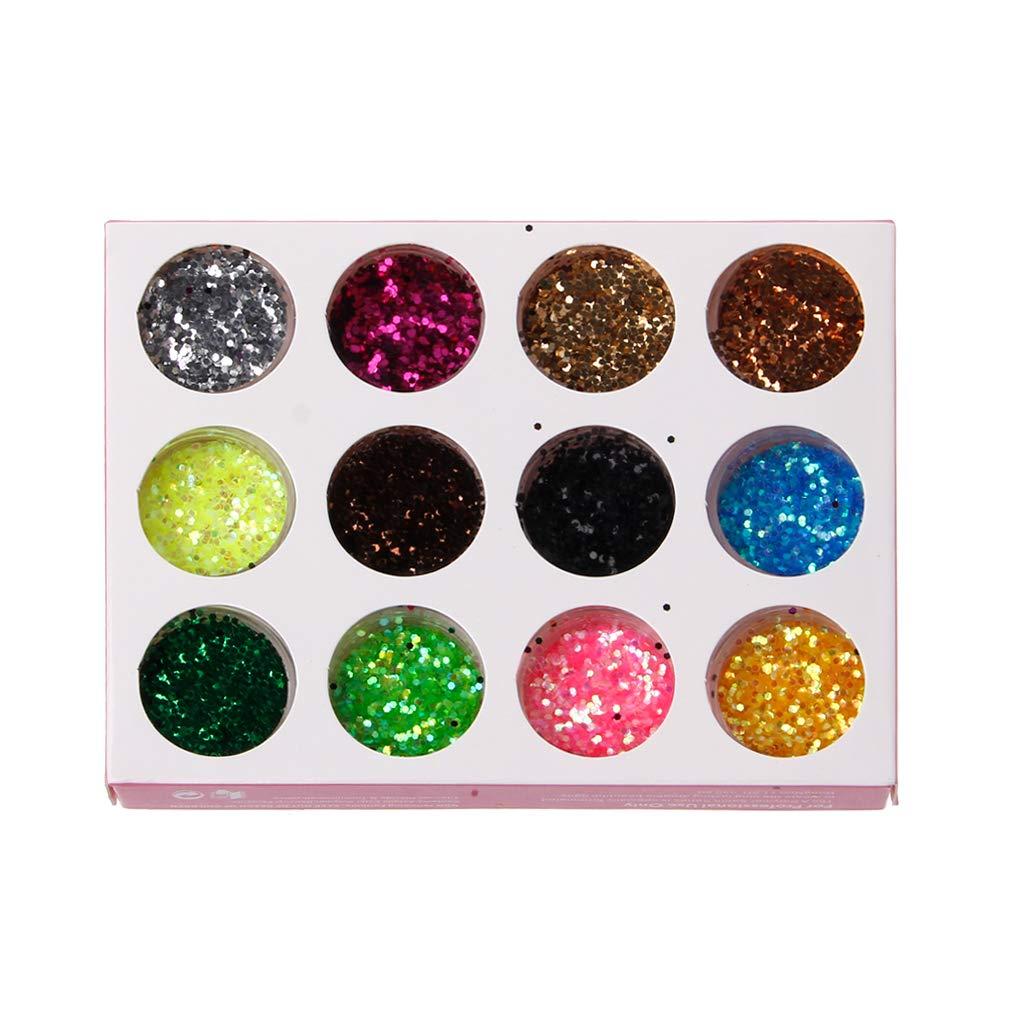 Lamdoo polvere glitter cuore stella paillettes nail art gioielli stampo epossidica riempimento per fai da te, Resina, A, 11.5 × 8.5 cm/ 4.5 × 3.3