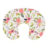 AMOUSTORE Nursing Pillow Cover,Baby Breastfeeding Pillow Cover Nursing Slipcover (A)