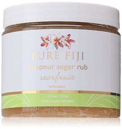 Pure Fiji Coconut Sugar Rub Starfruit, 15.5 Ounce
