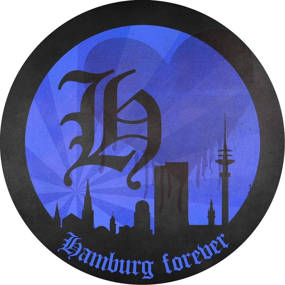 Sticker Hamburg Forever Bade-Shorts Badehosen HSV Badeshorts Hamburger SV Sportverein