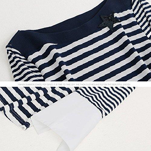 Jupe Jersey Et Blue amp;TT Ray Jean Blue pour Shirt W en Courtes L T Manches en Femme fYwdFqz
