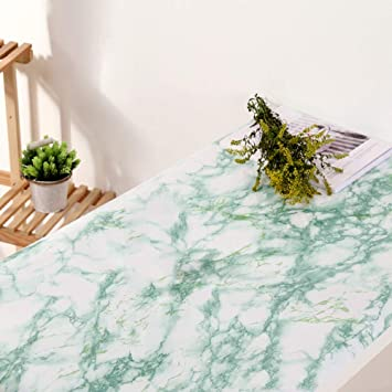 Buy Emerald Green Marble Contact Paper For Countertops Peel And Stick Wallpaper For Kitchen Cabinets Self Adhesive Wallpaper For Bathroom Decor 24 X 118 Inch Online At Low Prices In India Amazon In