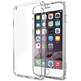iPhone 6 Case, Spigen [AIR CUSHION] iPhone 6 (4.7) Case Bumper [Ultra Hybrid Series] [Crystal Clear] Air Cushion Technology Corners + Bumper Case with Clear Back Panel - ECO-Friendly Packaging - Bumper Case for iPhone 6 (4.7) (2014) - Crystal Clear (SGP10954)