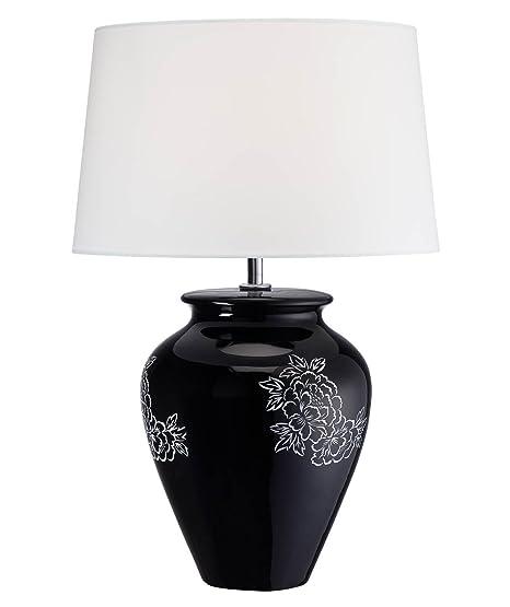 Amazon.com: Lite Fuente ls-22033 lámpara de mesa, cuerpo de ...