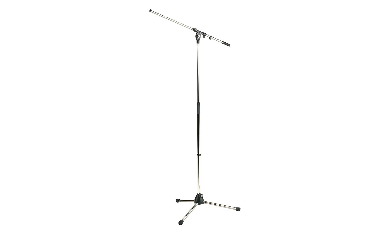 K&M Stands 210/2-BLACK Microphone/Boom Stand K & M 21020
