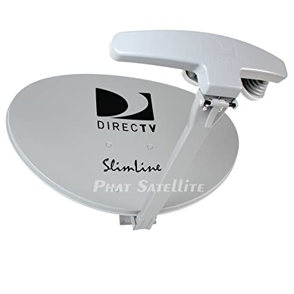 Directv Five LNB Ka/ku Slim Line Dish Antenna for Mpeg-4 C Hd Programming  Sl5 (Au9-s)