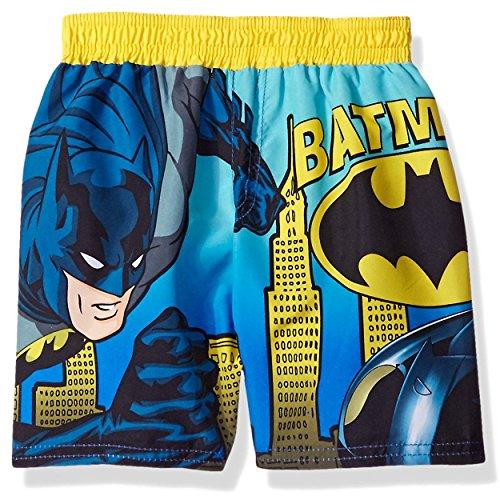 Price comparison product image BatMan Toddler Boys' Gotham City Batmobile Swim Trunk,  Blue,  4T