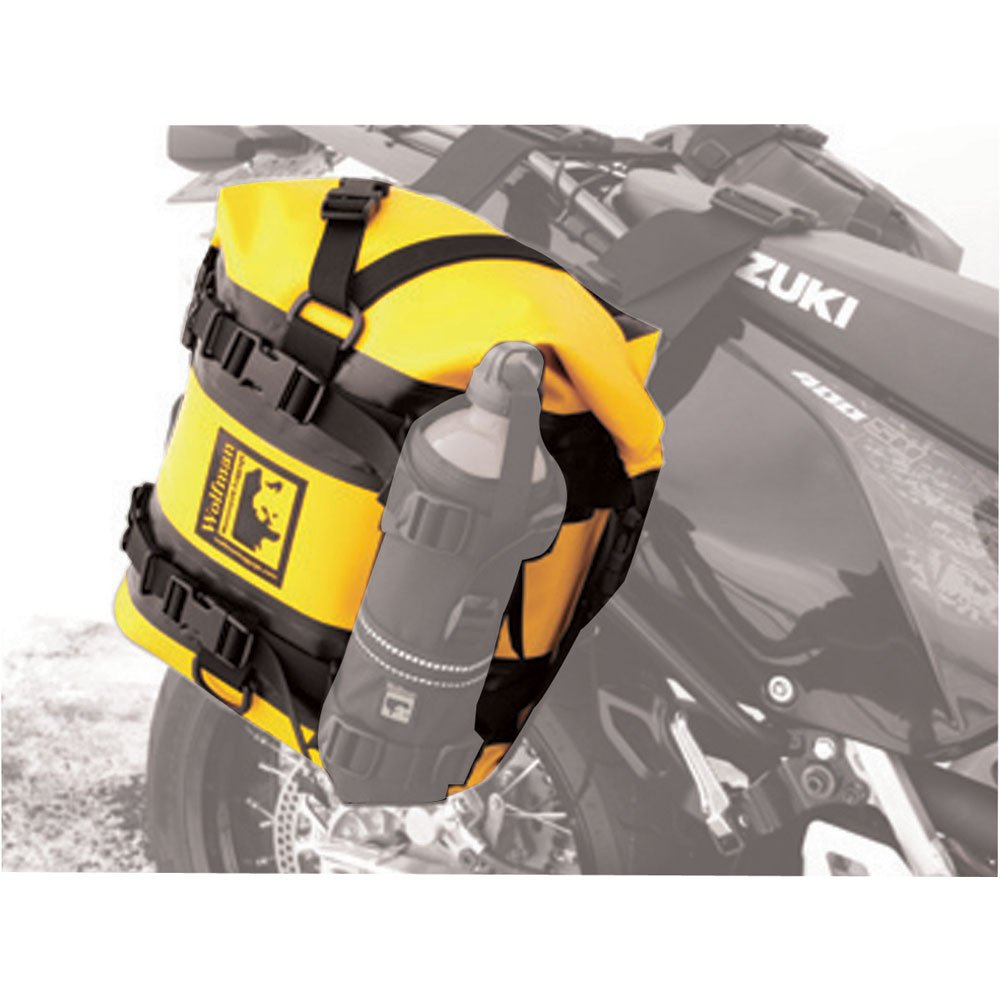 Wolfman Expedition Dry Saddle Bags Yellow by Wolfman (Image #1)