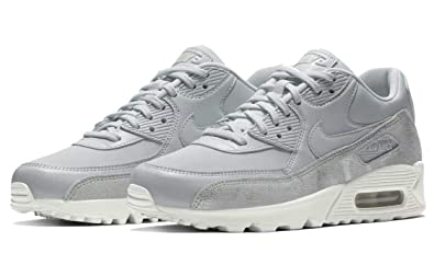 c0461a180237 Nike Womens Air Max 90 PRM Pure Platinum Pure Platinum 896497 010 (US 5