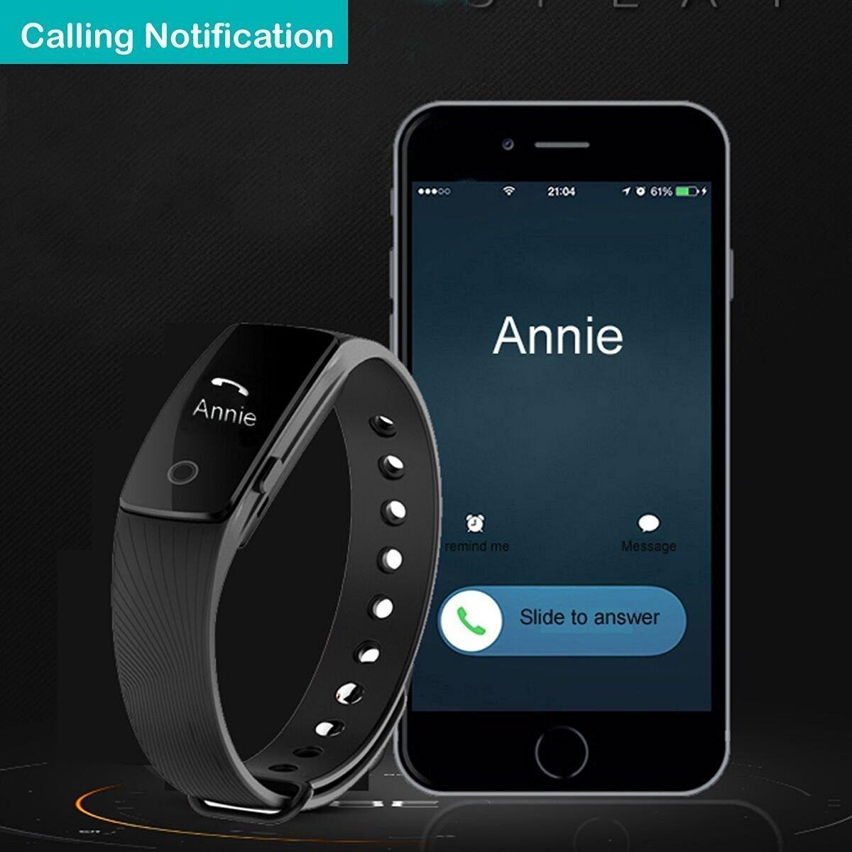 Willful Bluetooth pulsera de seguimiento de actividad Fitness pulsera inteligente con monitor de sueño podómetro contador de calorías alarma reloj ...