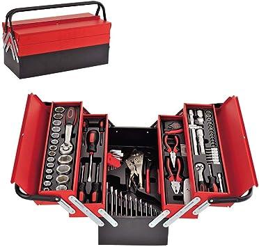 Juego de herramientas profesional de 86 piezas en caja de metal ...