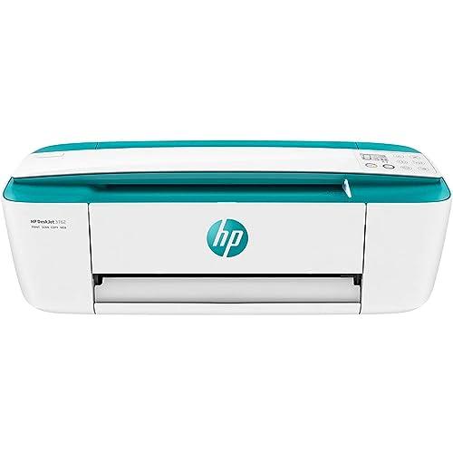 HP DeskJet 3762 Impresora de tinta multifunción 8 ppm 4800 x 1200 DPI A4 Wifi Escanea Copia 60 hojas Modo silencioso Verde agua