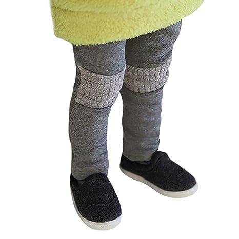 QUICKLYLY Pantalones Bebe Niño Niña 18 Meses Recién Nacido Invierno Largos Grueso Algodon: Amazon.es: Ropa y accesorios
