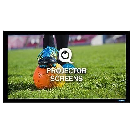 QualGear QG-PS-FF6-169-92-A - Pantalla de proyector 3D de Alta ...