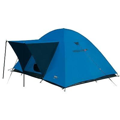 High Peak Tente Texel 3, Bleu/Gris, L
