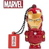 Avengers Chiavetta USB 32 GB Iron Man - Memoria Flash Drive 2.0 Originale Marvel, Tribe FD016704