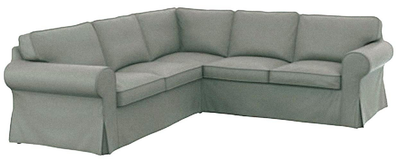 El algodón Ikea Ektorp 2 sofá funda de recambio es fabricada ...