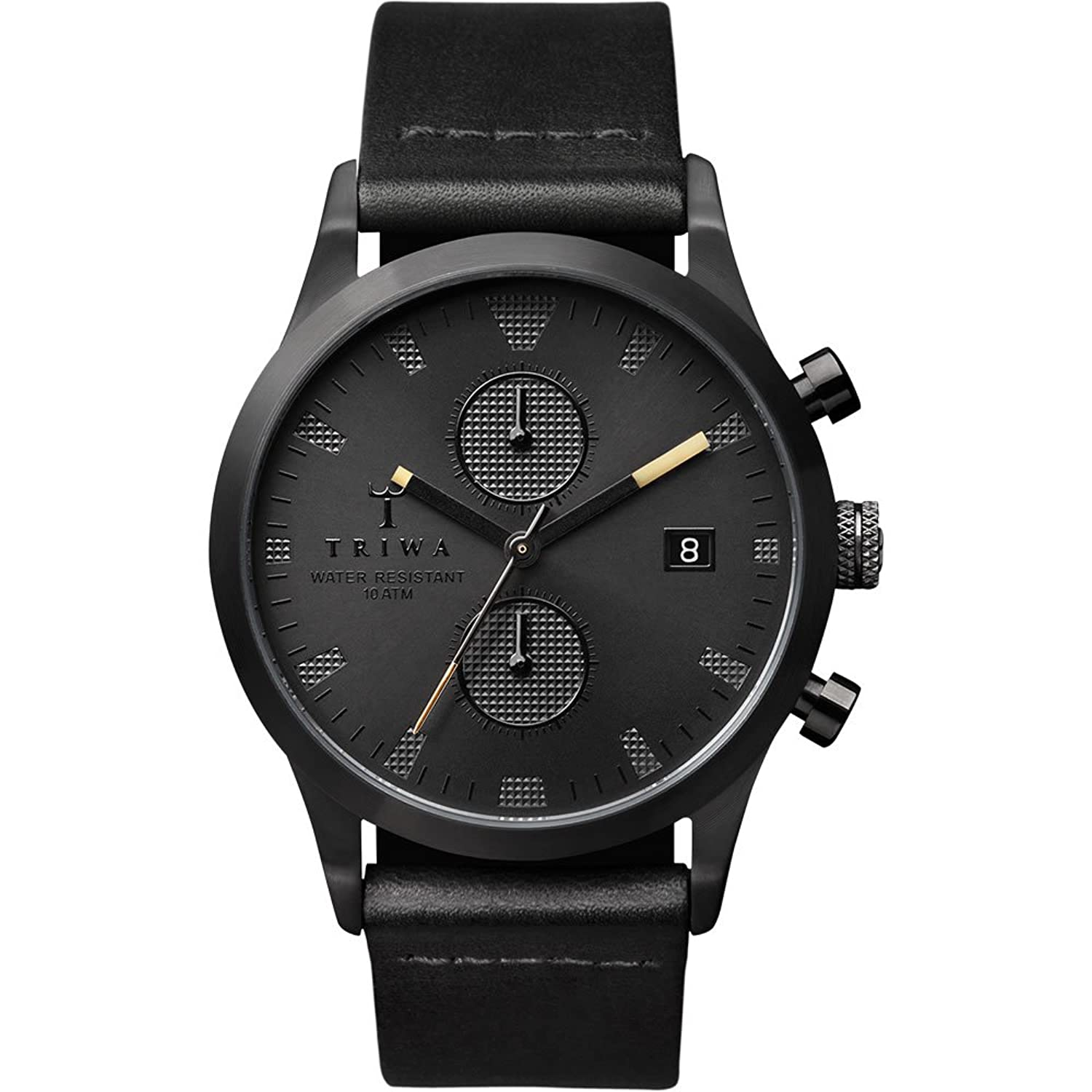 Triwa Watch - Sort of Black Chrono - Black Classic