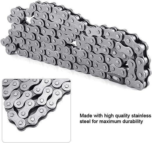 KIMISS Cadena de material de acero inoxidable, 415-110L Cadena de ...