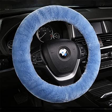 amazon com dotesy pure wool auto steering wheel cover genuinedotesy pure wool auto steering wheel cover genuine sheepskin great grip anti slip car steering