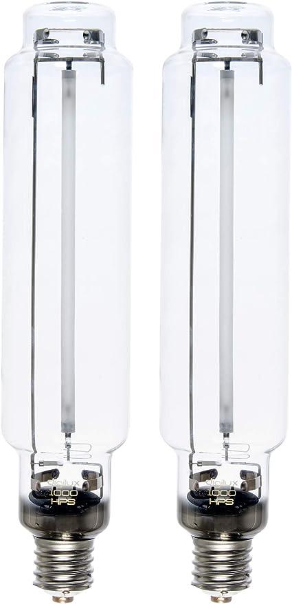 Green Gear 250w Watt High Pressure Sodium HPS Grow Light Bulb Lamp 2-PACK