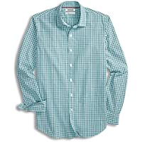 Goodthreads Men's Slim-Fit Long-Sleeve Micro-Check Shirt