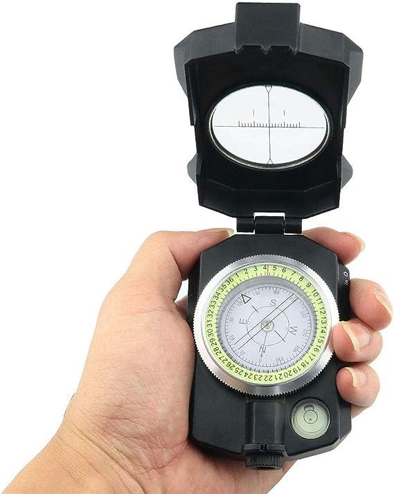 BD.Y Brújula de navegación de brújula Multifuncional inclinómetro ...
