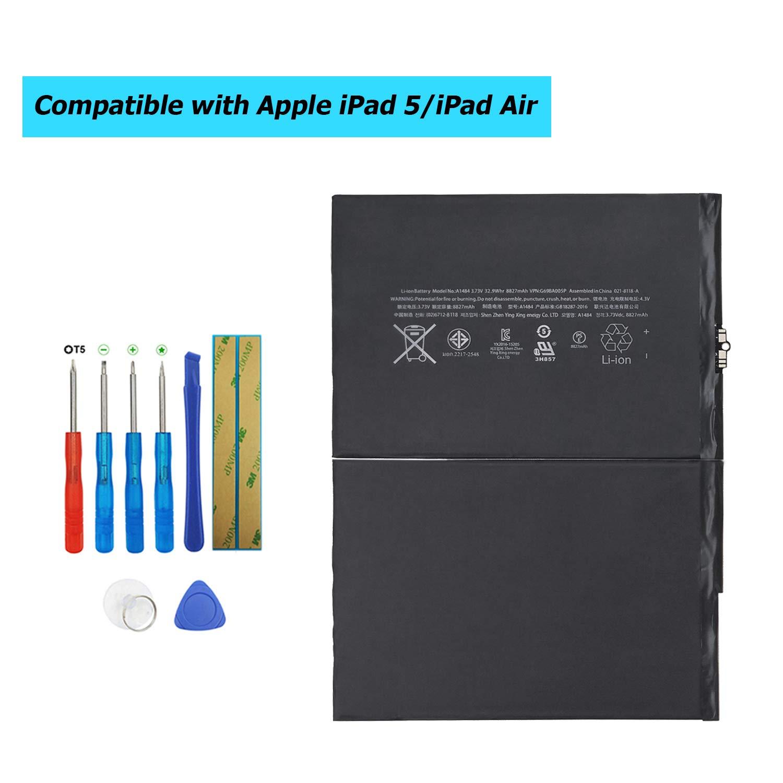 Bateria Tablet A1484 Battery 6712-6700 para Apple iPad 5 iPa