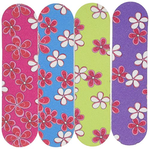 Mani Spa - Fun Express Girlie Mini Emery Boards (1 Dozen) - Bulk