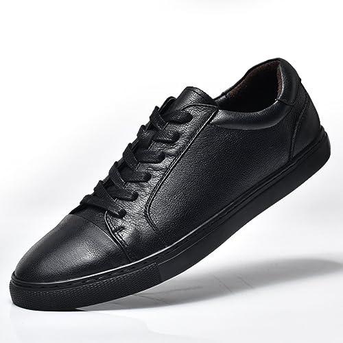 Miyoopark UK-XCR90127, Herren Sneaker, Schwarz - Schwarz - Größe: 39 EU