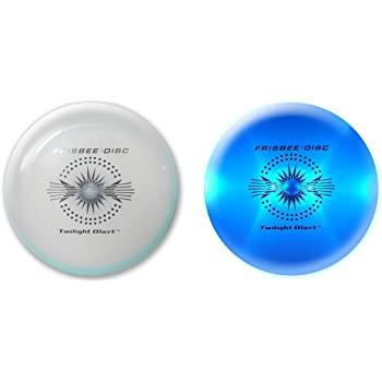 Amazon Com Wham O Twilight Blast Led Frisbee Flying Disc