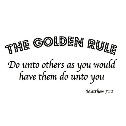 Do Unto Others Quotes Best Amazon The Golden Rule Do Unto Others As You Would Have Them