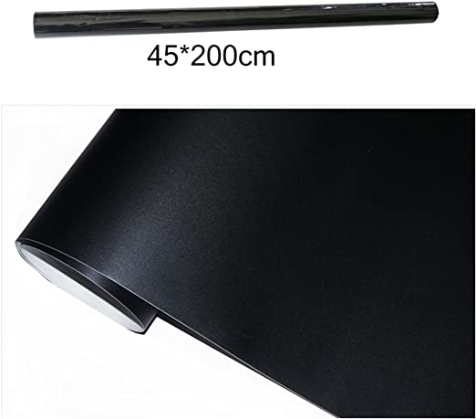 tiza pizarra adhesivo 200/x 45/cm Plus 5/tizas Extra/íble Negro Pizarra Pared Papel adhesivo para escuela y hogar